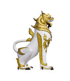 thai lionstatyer Royaltyfria Foton