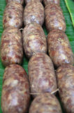 Thai liver pork sausage Royalty Free Stock Images