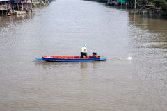 Thai local canal Stock Photography
