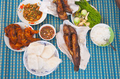 Thai local food Royalty Free Stock Photography