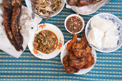 Thai local food Stock Images