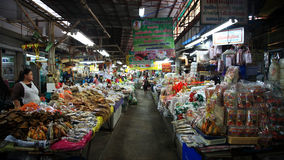 Thai local food market Royalty Free Stock Photo