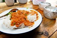 Thai local food Royalty Free Stock Photos