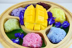 Thai local sweet Royalty Free Stock Photo