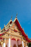 Thai local temple Royalty Free Stock Photography