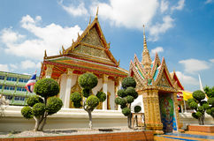 Thai local temple Royalty Free Stock Photo