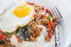 Thai Loco Moco Stock Photos