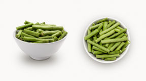 Thai long bean. Isolated on white background Stock Photo