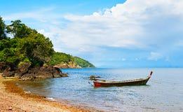 Thai Long Boat Royalty Free Stock Photography