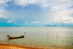 Thai Long Boat Stock Images