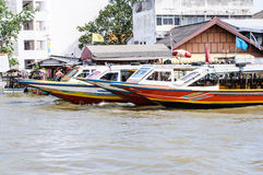 Thai long tail boat Stock Photo