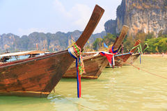 Thai long tail boat Royalty Free Stock Images