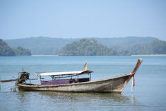 Thai Long tailed boat Stock Image