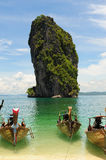 Thai longtail boat Royalty Free Stock Photos