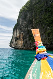 Thai longtail boat Royalty Free Stock Images