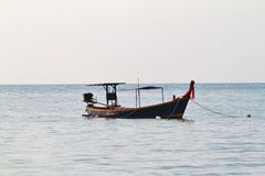 Thai longtail boat Stock Photos