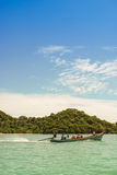 Thai longtail boat Royalty Free Stock Image