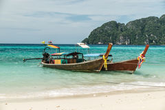 Thai longtail boats Stock Photography