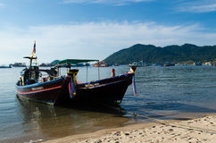 Thai Longtail Boats Royalty Free Stock Image