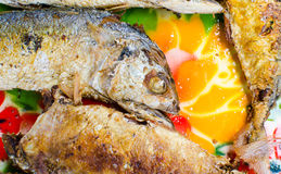 Thai Mackerel. Thai food Fish Mackerel and chili sauce Stock Images