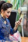 Thai Make up Royalty Free Stock Photography