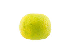 Thai mandarin orange on white background Stock Images