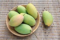 Thai mango. Namdokmai top of Thai fruits Royalty Free Stock Photography