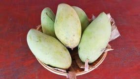 Thai mango. Name Nam Dok Mai Stock Photos