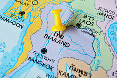 Thai map Stock Images
