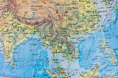 Thai map Stock Photos