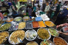 Thai market in Chiang Mai Stock Images