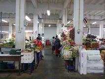 Thai marknad Royaltyfria Foton