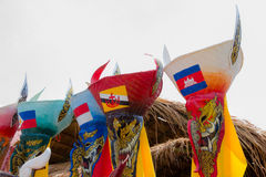 Thai masked festival Royalty Free Stock Image