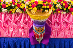 Thai masked festival Royalty Free Stock Photography