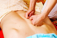 thai massage Royaltyfri Fotografi