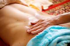 Thai massage Stock Images