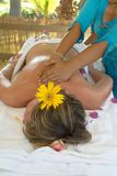 thai massage Royaltyfria Foton