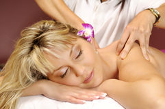 The Thai massage Stock Images