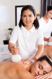 thai massage Arkivfoton