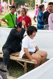 thai massage Arkivbild