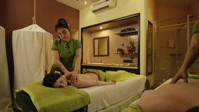 Thai massage for a couple