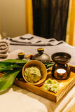 Thai Massage series Royalty Free Stock Images