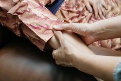 Thai Massage series royalty free stock photography