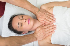 Thai massage. SPA procedure Stock Image