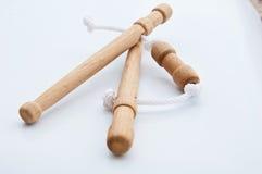 Thai massage tool on white background Stock Photo
