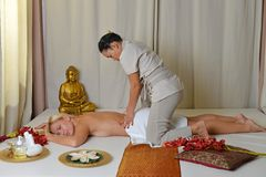 Thai massage Royalty Free Stock Images