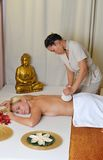 Thai massage Royalty Free Stock Image