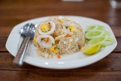 thai mat arkivfoton
