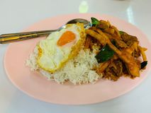 thai mat royaltyfri foto