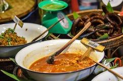 thai mat Arkivbilder